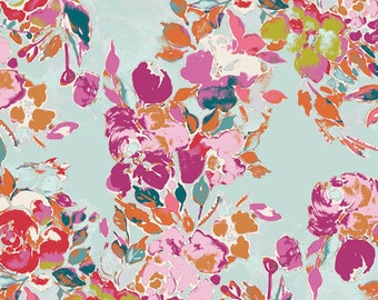Art Gallery Fabrics - Bloomsbury by Bari J -  Botanists Poem - BLB-44721 - Floral