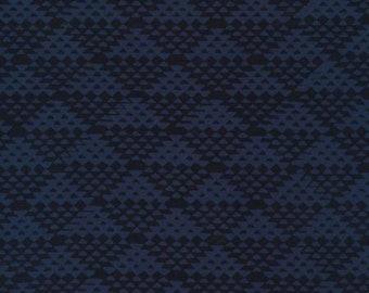 Hoffman Fabrics - Bali Batiks - 115H-68 - Indigo - Tap #6 (Fall Mystery 2018)