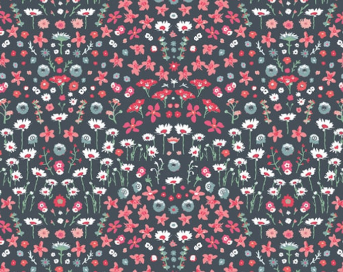 Art Gallery Fabrics - Picturesque by Katarina Roccella - Painted Field Cerise - PIC-29454