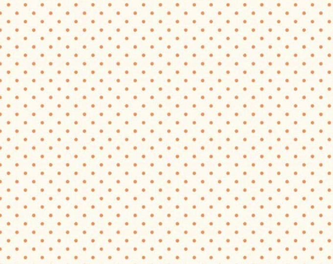CLEARANCE - Riley Blake - Le Creme Dots - C600-60 - Orange