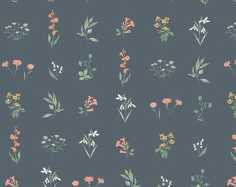 Art Gallery Fabrics - Picturesque by Katarina Roccella - Botanical Study Soft  - PIC-39457