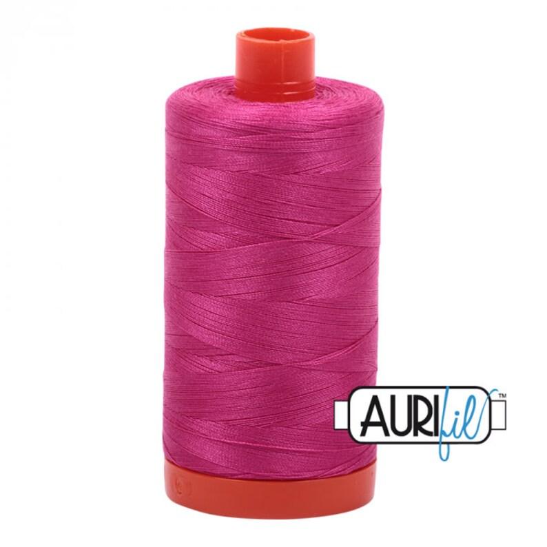 MK50SP4020 Fuchsia 4020-1300M Cotton Quilting Thread 50 Wt AURIFIL