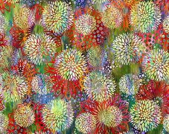Jasper Fabric E - Floragraphix V by Jason Yenter for In the Beginning Fabrics - 3FGE-1