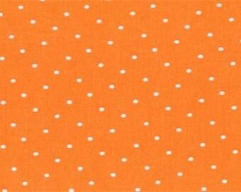CLEARANCE - One Yard Cut - Dear Stella - Orange - Intermix Dots - Blenders