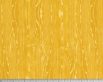 Free Spirit - Wood Grain - Joel Dewberry True Colors (PWTC008 - Gold) - Blenders