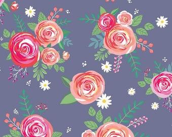 Riley Blake Designs - Poppy & Posey by Dodi Lee Poulsen - C10580-Amethyst