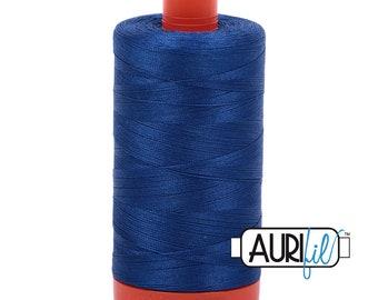 50 Wt AURIFIL - Dark Cobalt 2740 - 1300M Cotton Quilting Thread