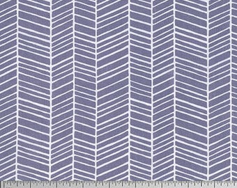 Free Spirit - Herringbone - Joel Dewberry True Colors (PWTC007 - Grey) - Blenders