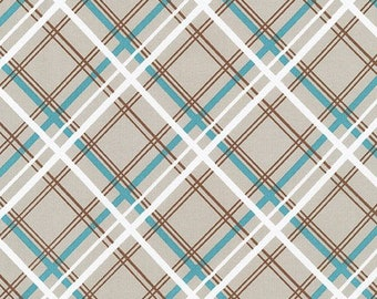 Jumanji Fabric A - Buffalo Flats by Violet Craft - Ash Plaid - AVL-19251-290