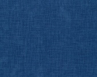 Lapis Fabric D and Binding - Quilter's Linen for Robert Kaufman Fabrics - ETJ-9864-59