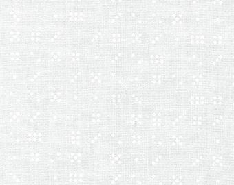 CLEARANCE - Robert Kaufman Fabrics - Modern Classic by Violet Craft - White - AVL-18711-1