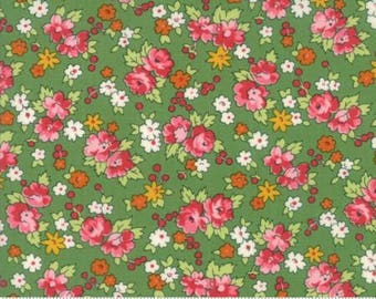 Moda - Spring a Ling by American Jane - Mint (21712 19) - Floral