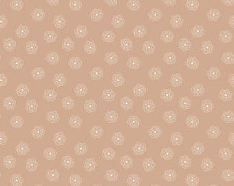 Riley Blake Designs - Nutmeg Blossoms - Bee Basics by Lori Holt - blenders