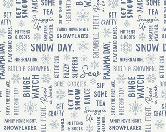Art Gallery Fabrics - Snow Day by Mister Domestic - Snowbound - SND-65410