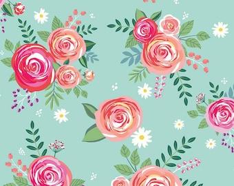Riley Blake Designs - Poppy & Posey by Dodi Lee Poulsen - C10580-Mint
