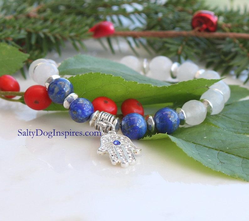 010 Womans Hamsa hand bracelet Healing Silver hamsa hand bracelet Hamsa jewelry Amulet bracelet Good luck charm bracelet