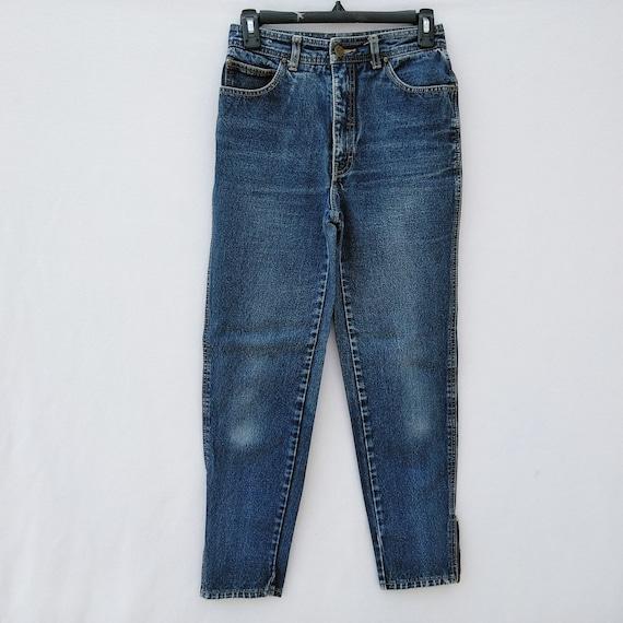 fb83af0926c Vintage Jordache Ankle Zippers High Waist Women s Jeans