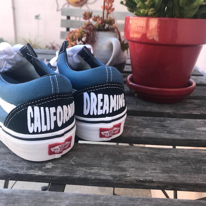 16c51c31c92 Custom Vans California Dreaming Vans