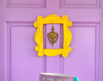 Friends Frame/ Friends Door Frame/ Peephole Yellow Frame/ Decor/ Housewarming Gift/ The One Where