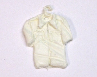 1:25 G scale model resin uniform shirt on hanger