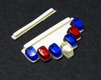 1:25 scale model resin Vector lightbar police