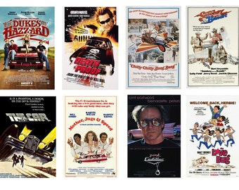 1:25 G scale model car movie theater posters set 2