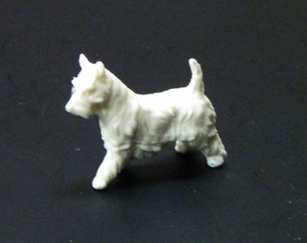 1:25 G scale model resin Schnauzer dog figure