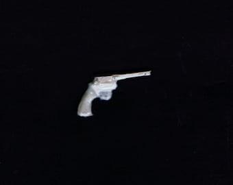 1:25 G scale model resin police revolver handgun