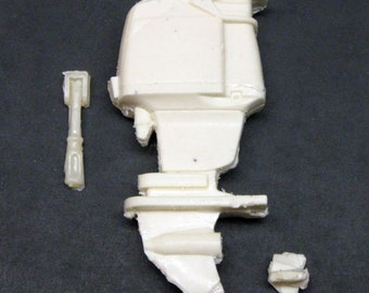 1/25 scale model resin outboard boat motor