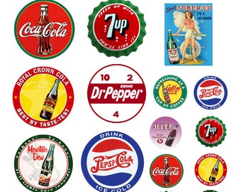 scale soda pop soft drink signs