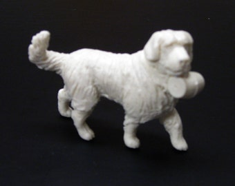 1:25 G scale model St. Bernard alpine rescue dog figure