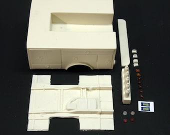 1:25 scale model resin Emergency! rescue squad 51 conversion kit