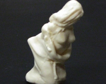 1:25 scale model nude female bound bagged bondage figure