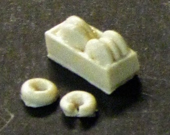 1:25 G scale model resin police car box of donuts doughnuts