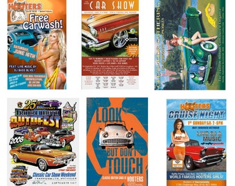 scale model car show posters