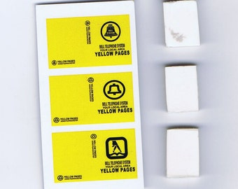 1:25 G scale model Yellow Pages Telephone Books resin
