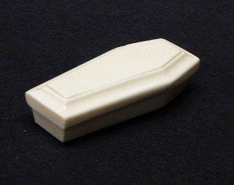 1:25 G scale model funeral toe pincher cremation coffin hearse