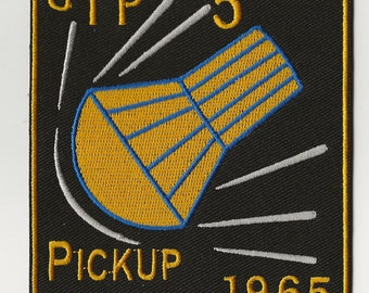 NASA Gemini 5 pick up space program US Navy ship recovery force patch