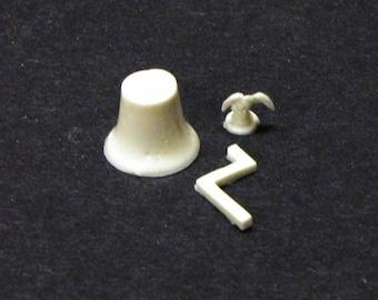 1:25 scale model resin fire truck American LaFrance bell
