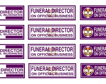 Funeral and hearse