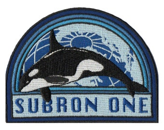 USS Humphrey Bogart SSN1118 Subron One graphic novel Electric Boat submarine patch