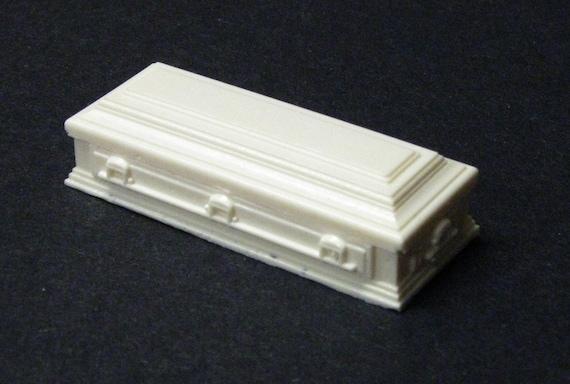 1:32 scale model resin casket funeral hearse 1//32