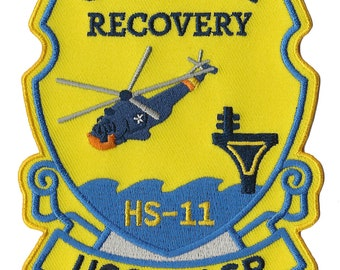 USS Wasp NASA Gemini 12 space program US Navy ship recovery force patch