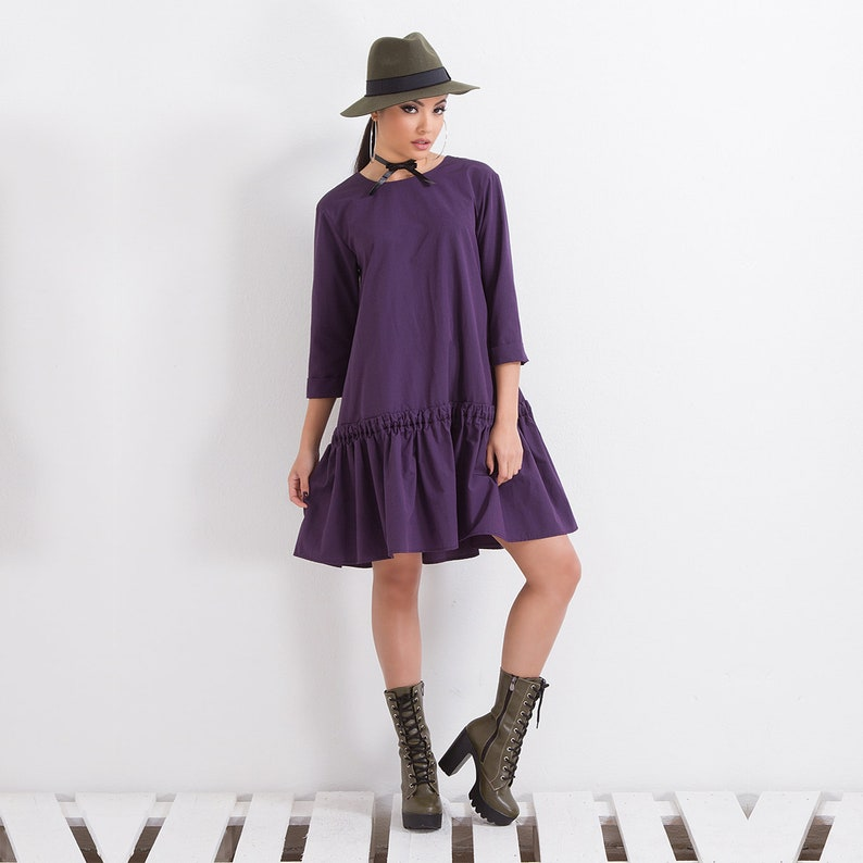 Loose Dress/ Short Dress/ Mini Dress/ Plus Size Dress/ Maxi | Etsy