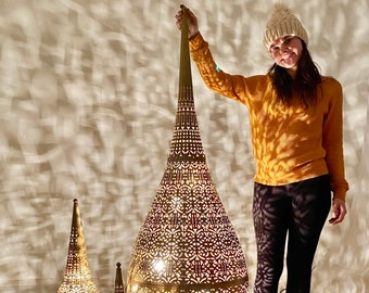 Floor Lamp - Boho Decor - Moroccan Decor - Layla