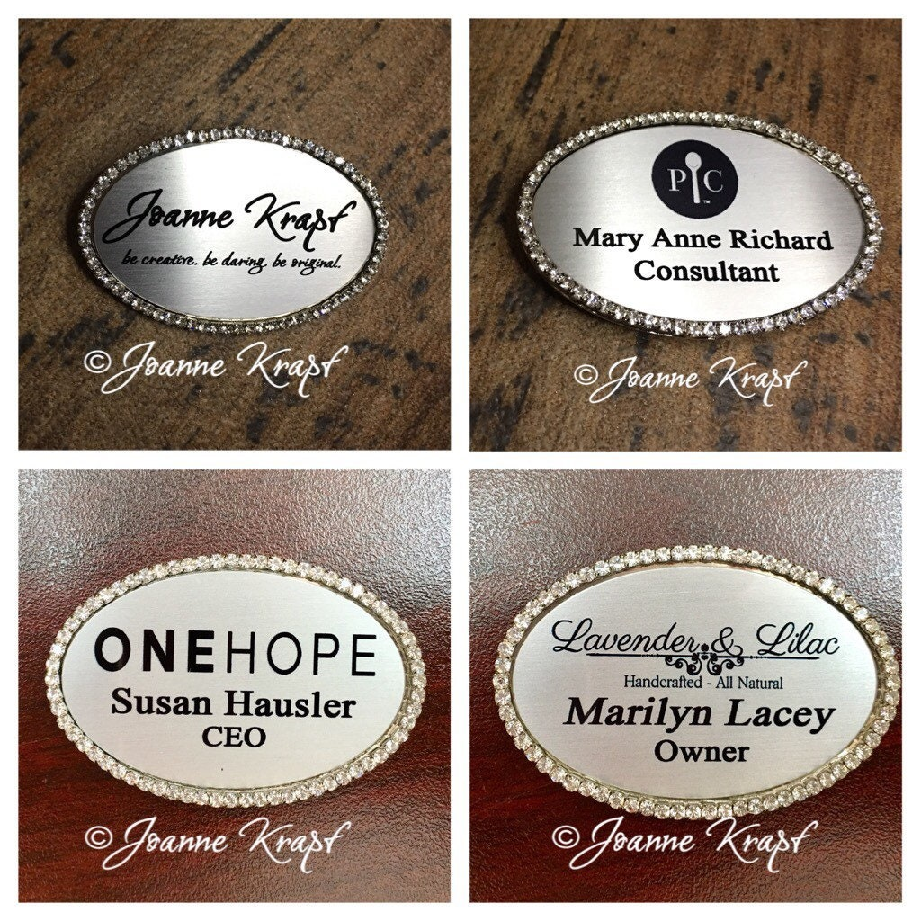 Personalized Rhinestone MARY ANN name//magnet back