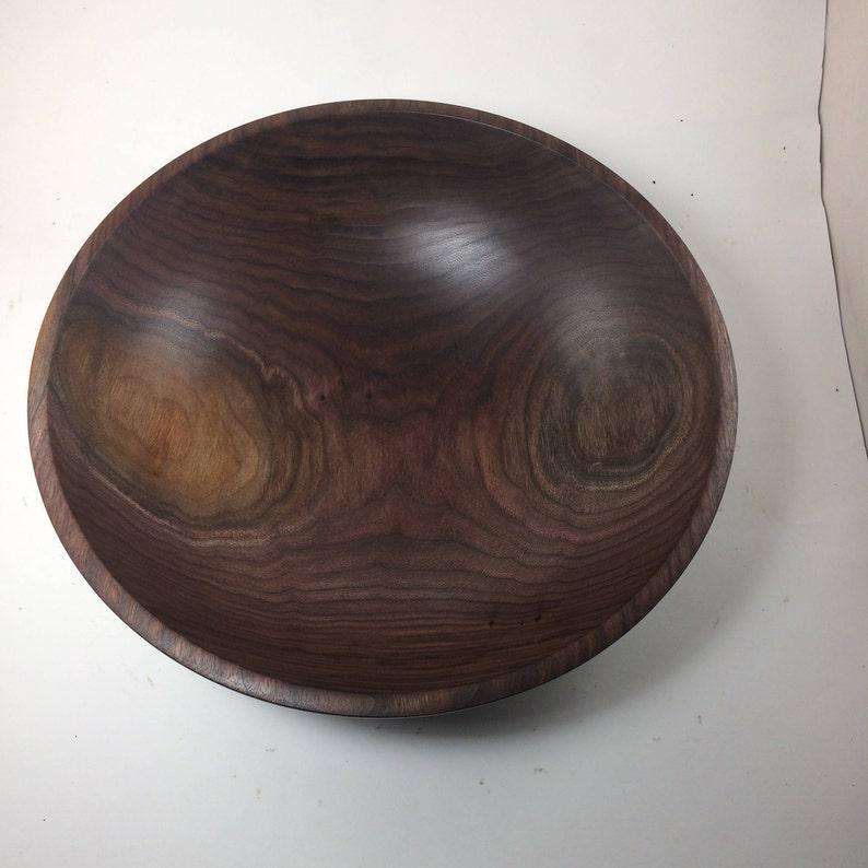 14x4.5 Black walnut Bowl