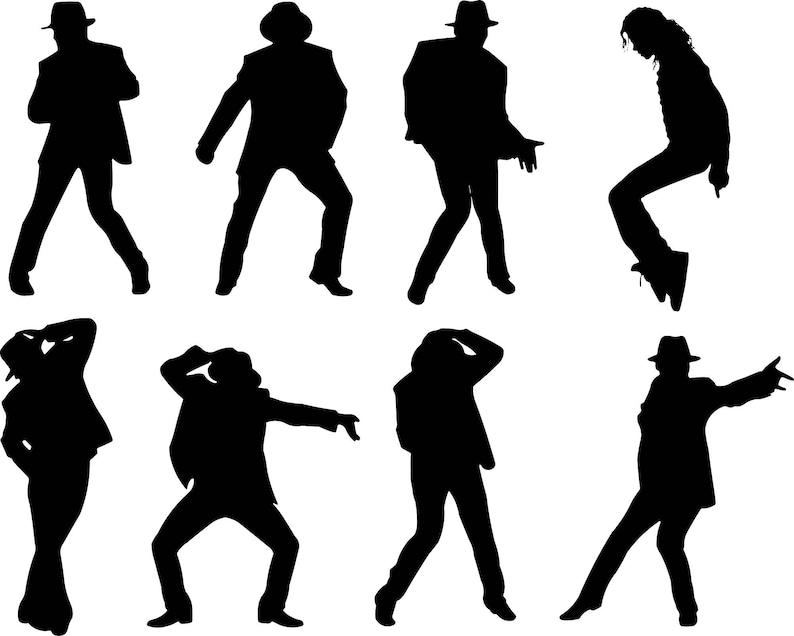 Set Von Michael Jackson Popstar Aufkleber Aufkleber Sterben Geschnitten Stoßstange Autoscheiben Laptops Wand Raum