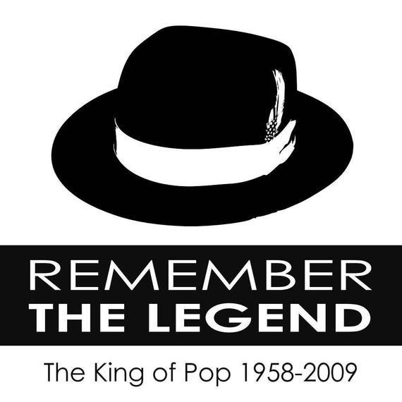 Michael Jackson King Of Pop Zeichen Aufkleber Aufkleber Für Auto Laptop