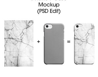 Iphone 7 Cover Photoshop Mockup